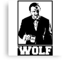 Mr Wolf's Mugs Canvas Print
