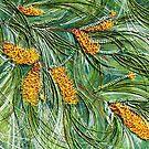 Golden Bottlebrush by Ciska