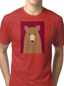 GRIZZLY BEAR PORTRAIT Tri-blend T-Shirt