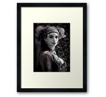 The Gypsy's Gaze Framed Print