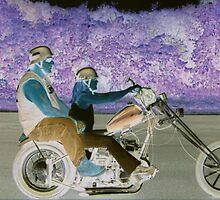 RIDING BITCH BLUES  by Henry VanderJagt