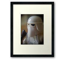 Snowtrooper Framed Print