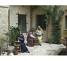From the past (3 of 4) - Nobles and servants Photographic Print
