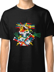 Aztec eagle and snake V2 Classic T-Shirt