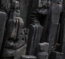 Tribal Carvings by eddytkirk