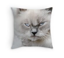 Not Happy Throw Pillow