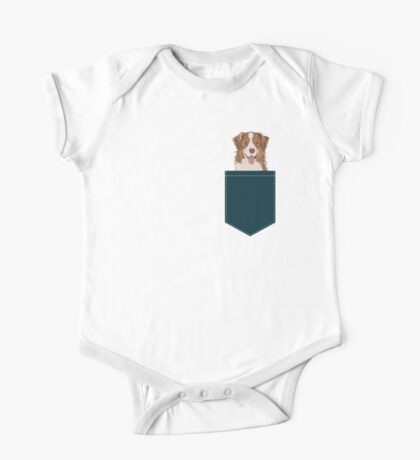 Hollis - Australian Shepherd gifts for dog lovers dog owner gifts and perfect gift for dog person One Piece - Short Sleeve