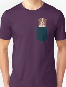Hollis - Australian Shepherd gifts for dog lovers dog owner gifts and perfect gift for dog person Unisex T-Shirt