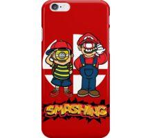 Smashing- B iPhone Case/Skin
