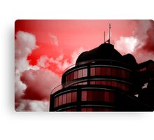 Paint the Town Red Canvas Print