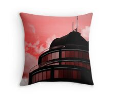 Paint the Town Red Throw Pillow
