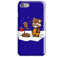 A Groovy Racoon Christmas iPhone Case/Skin
