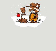 A Groovy Racoon Christmas T-Shirt