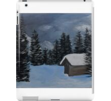 Cabin in the hills iPad Case/Skin