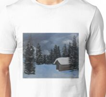 Cabin in the hills Unisex T-Shirt