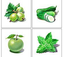 Green Vitamins by Irina Sztukowski