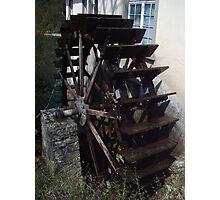 The Water Wheel Photographic Print