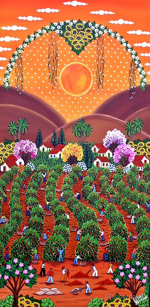 Brazilian Coffee - Afternoon of Work by Lilian Bernoldi