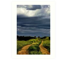 """""""Storms on the Path of Life"""" Art Print"""