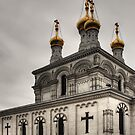 Russian church by Antoine Beyeler
