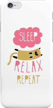 Sleep, Relax, Repeat by thekitschycat
