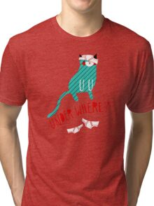 Under Where? Tri-blend T-Shirt