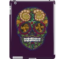 Winter Skull Holly king- Purple iPad Case/Skin