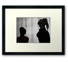 Quiet Conversation Framed Print