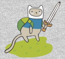 Adventure Kitty by thekitschycat