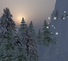 Snowy Christmas by Shoshana Epsilon