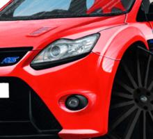 Ford Focus RS (Mk2) Red [Black Wheels] Sticker