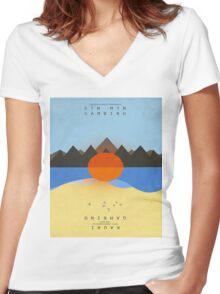 Stn Mtn Kauai Women's Fitted V-Neck T-Shirt