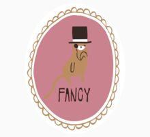 Fancy Cat Sticker by thekitschycat