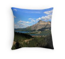 Waterton Lakes National Park - Carthew-Alderson Hiking Trail 11 Throw Pillow