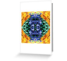 the blink of an eye Greeting Card