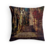 In the village Throw Pillow