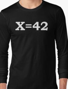 The Meaning of Life2 Long Sleeve T-Shirt