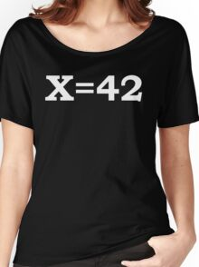 The Meaning of Life2 Women's Relaxed Fit T-Shirt