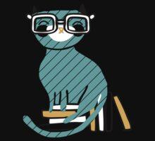 Smart Kitty One Piece - Short Sleeve