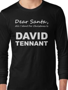Dear Santa8 Long Sleeve T-Shirt