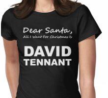 Dear Santa8 Womens Fitted T-Shirt