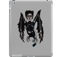 Alkonost with headphones iPad Case/Skin