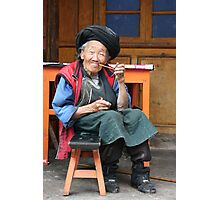 Granny Photographic Print