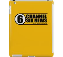 Channel 6 News with April O'Neil iPad Case/Skin