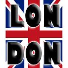 UNION JACK, LONDON, ENGLAND, IN COLOUR, UK, BRITISH, by TOM HILL - Designer