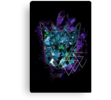 Decepticons Abstractness version 2.0 Canvas Print