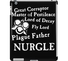 Nurgle, the Plague Father iPad Case/Skin