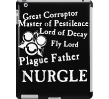 Nurgle, the Plague Father iPad Case/Skin