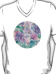 Blossoming - lilac, mint & aqua T-Shirt