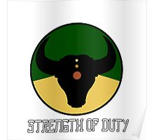 Strength of Duty Poster